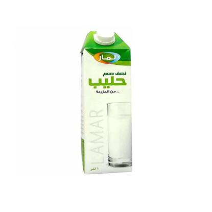 Picture of Lamar half cream milk - 1 liter